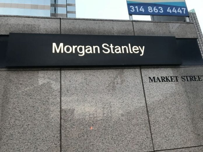 Morgan Stanley's net income climbs to £2.11 billion in the third quarter